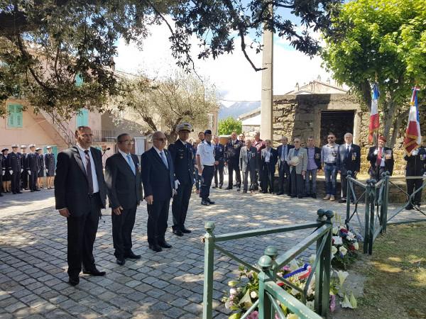 Cérémonie commémorative 08 mai 1945