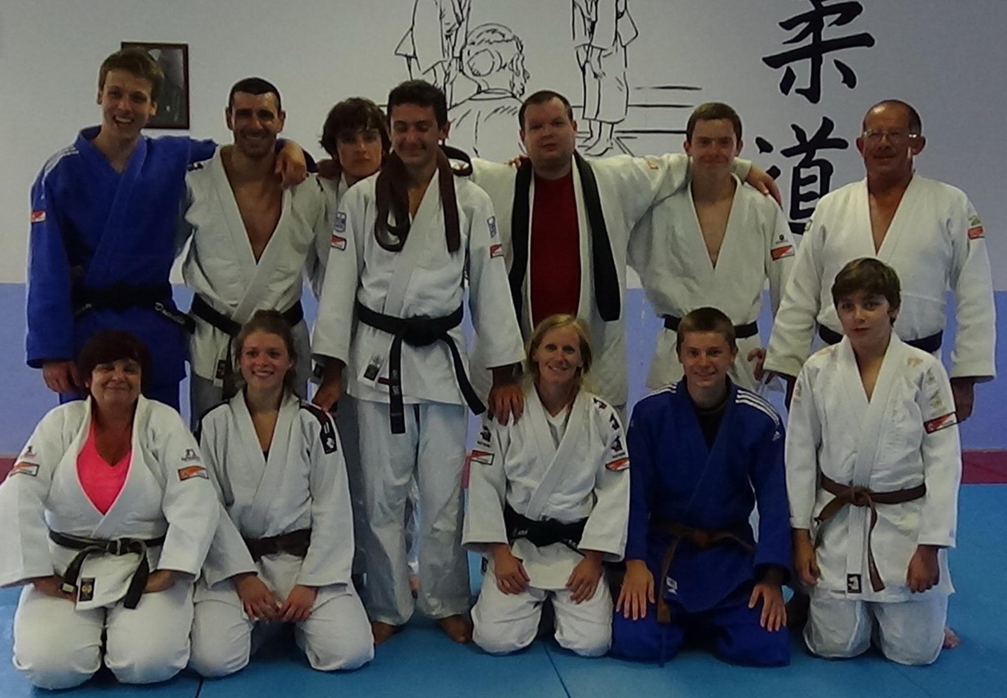 Viny Barthelat onzième ceinture noire du judo club de Ventiseri