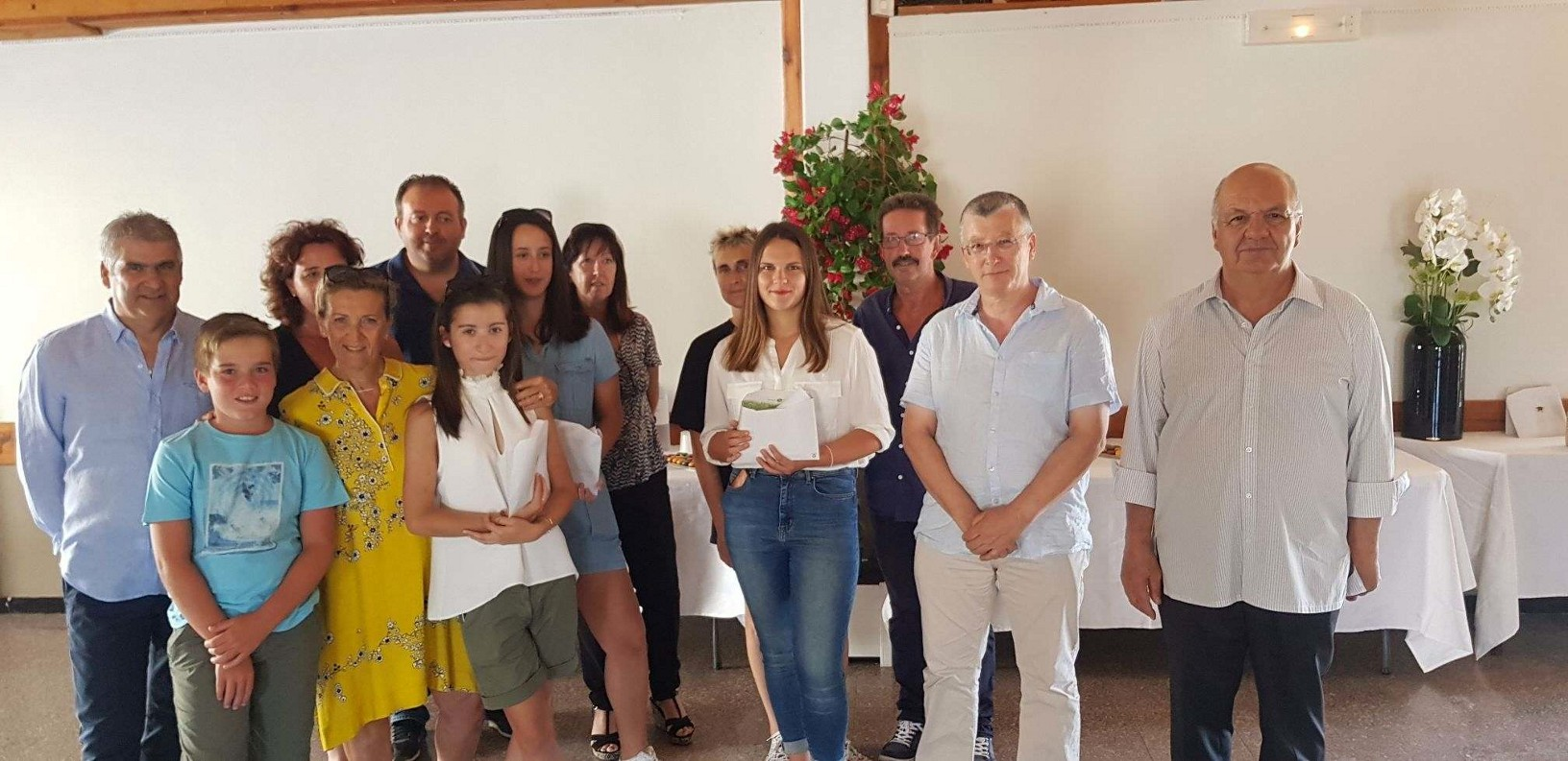 Réception en l'honneur des bacheliers 2017