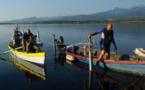 Récemment, une équipe de tournage de l'émission Des racines et des ailes a été accuellie à l'étang de Palu par Julien Cugurno