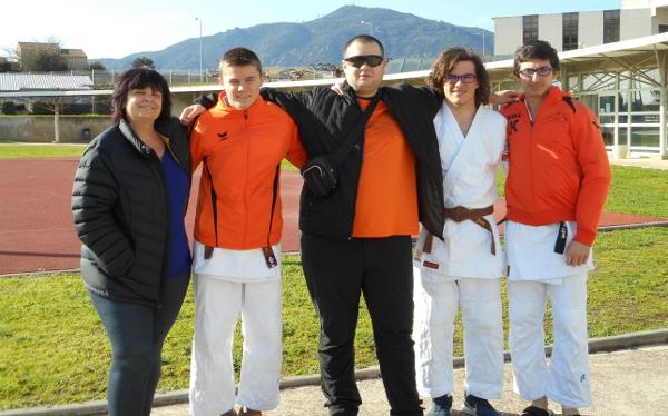 Les cadets du Judo Club en forme !