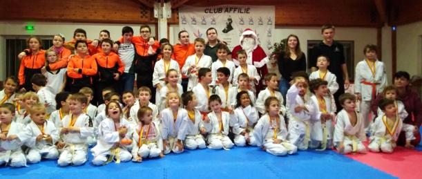 Coupe de Noël au Judo Club