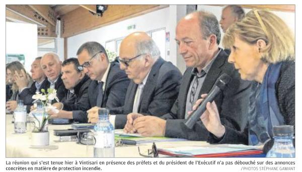 Le Fium'Orbu-Castellu devra attendre encore pour la protection incendie