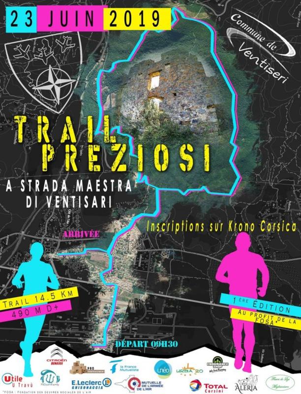 Réouverture de sentiers centenaires dans la perspective du trail Preziosi