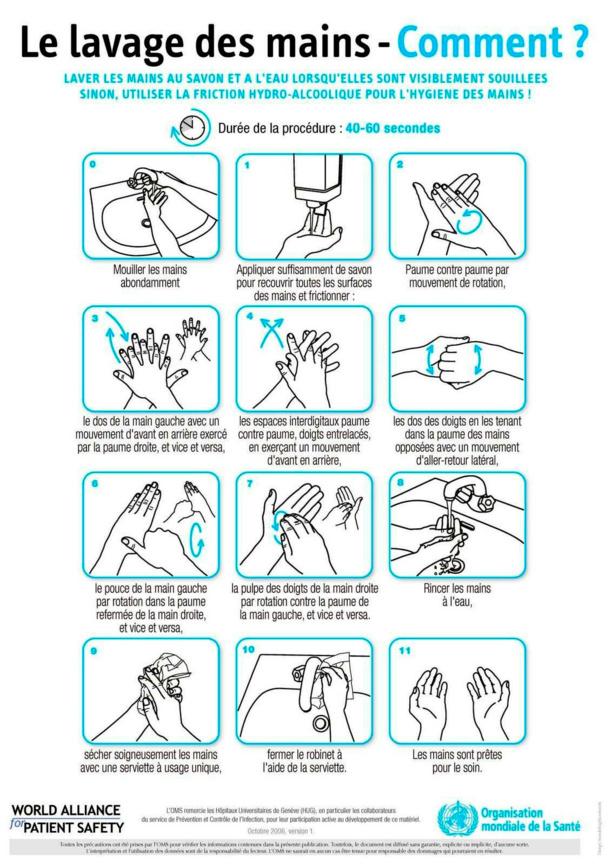 Coronavirus : les recommandations