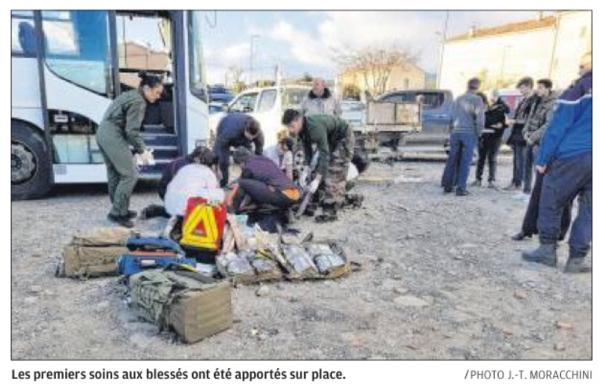 Une mini-tornade emporte une toiture : 15 blessés à Travu