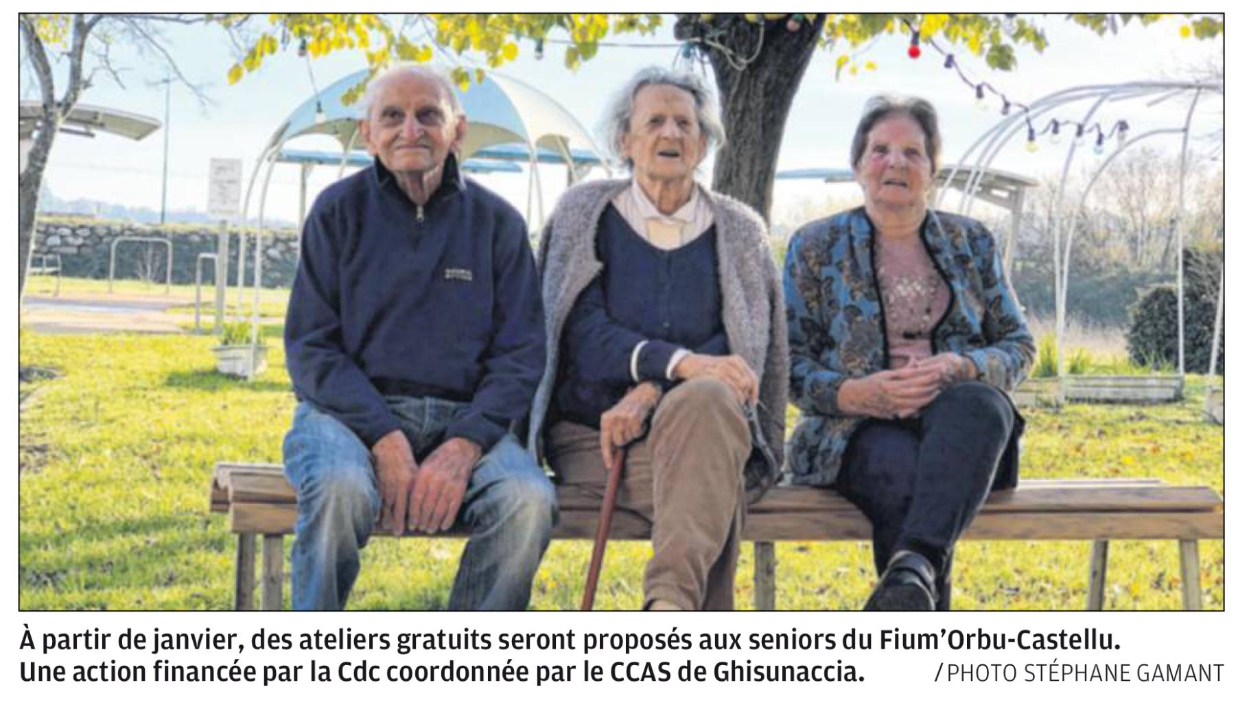 Des actions collectives pour bien vieillir