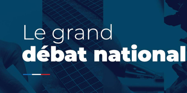Grand Débat National - Registre de requêtes et formulaire en ligne