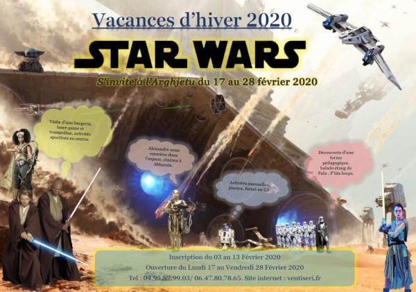 Star Wars et Carnaval à l'Arghjetu