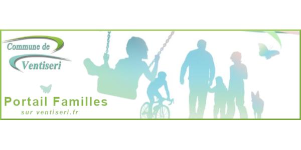 Ouverture du Portail Familles