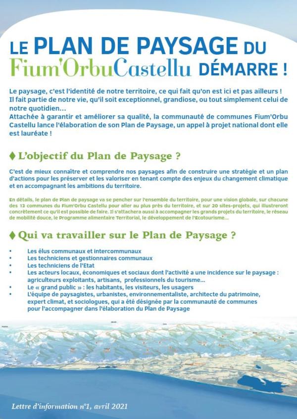 Participez au plan de paysage du Fium'Orbu Castellu