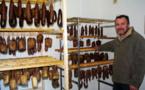 C'est à proximité du hameau de Mignataghja que Dominique Chaleil a crée son laboratoire arisanal de charcuterie