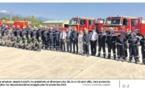 Le dispositif de lutte contre les feux présenté par l'État sur la BA 126 de Ventiseri Solenzara