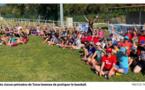 Le groupe scolaire de Travu est aussi l'école du baseball