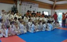 Une compet' pour fêter Noël au club de judo de Travu