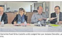Signature du projet alimentaire territorial du Fium'Orbu-Castellu