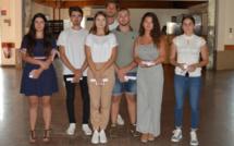 Réception en l'honneur des bacheliers 2019
