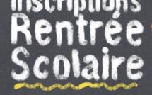 Inscriptions école maternelle septembre 2020