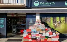 219 colis récoltés à l'épicerie and Co de Travo