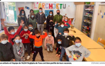 Vacances masquées et actives pour les enfants de l'ALSH