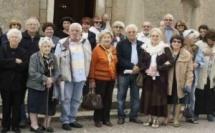 Conférence à l'église pour les adhérents de l'associu Luci