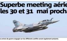 Superbe meeting aérien les 30 et 31 mai prochains