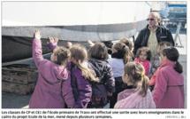 Les  jeunes élèves de Travu à la découverte de la mer