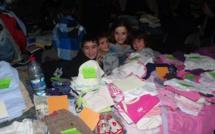 Convivialité et solidarité autour de la bourse aux vêtements organisée par Vintiseri per tutti.